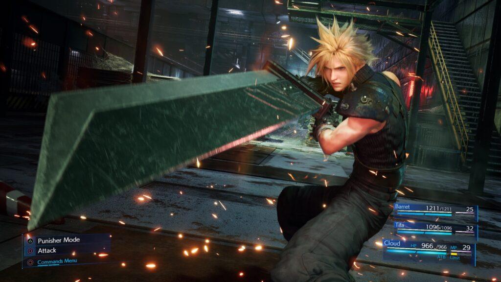 Final Fantasy VII Remake al Lucca comics
