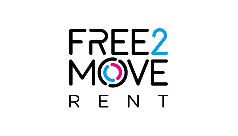 Free2move rent logo