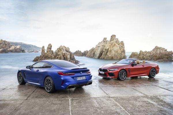 Nuova BMW M8: coupé e convertibile disponibili nell'edizione Competition thumbnail