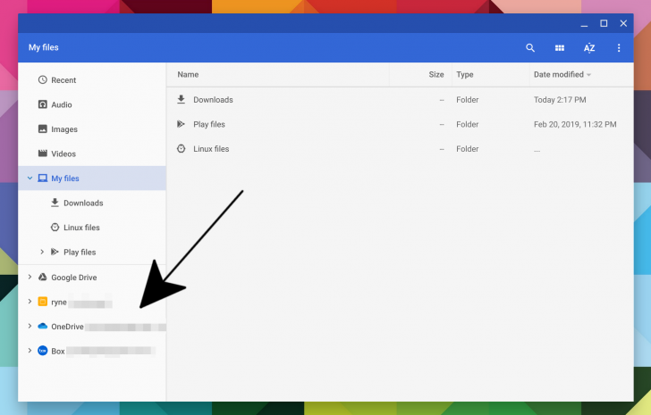Chrome OS mostrerà presto il cloud come file di archiviazione thumbnail