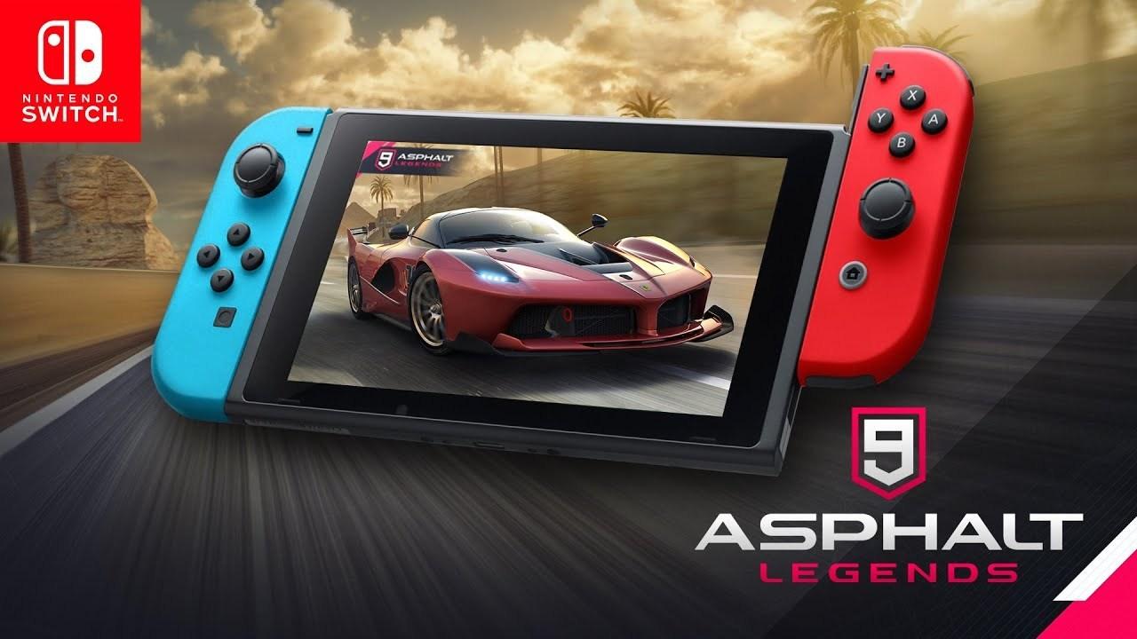 Asphalt 9 Legends arriva su Nintendo Switch thumbnail
