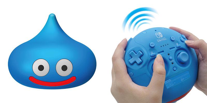 Dragon Quest: presentato un controller Nintendo Switch a tema thumbnail