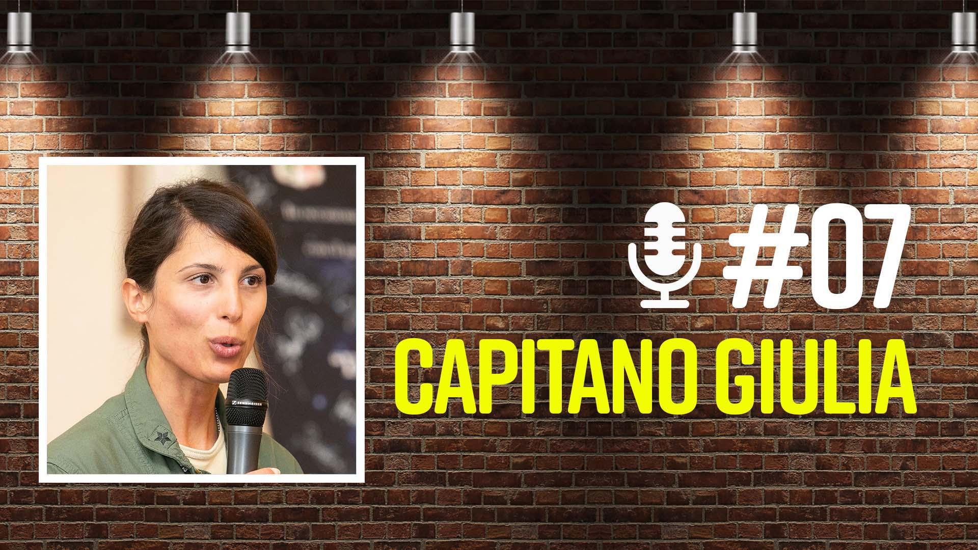 Intervista Capitano Giulia: come diventare pilota di caccia? | podcast thumbnail