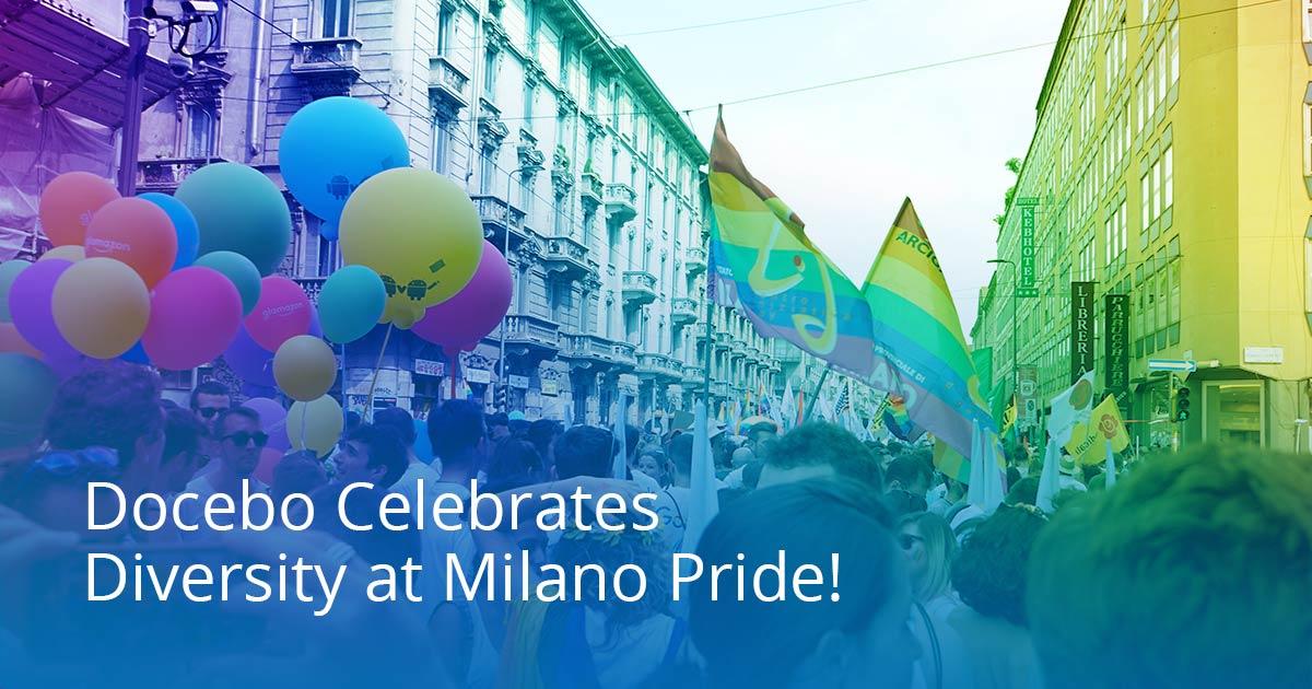Docebo è Gold Sponsor alla Milano Pride Week 2019 thumbnail