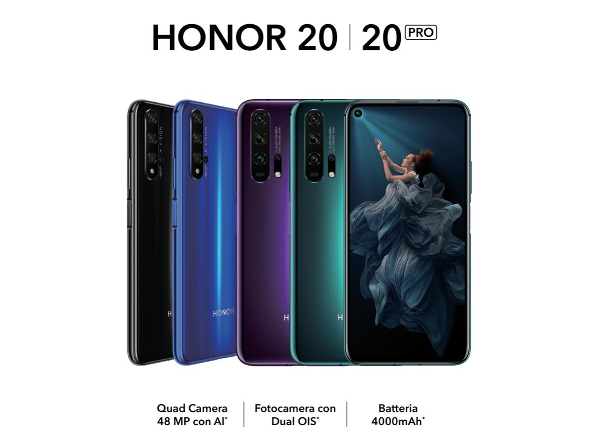 Honor 20: offerta imperdibile presso i rivenditori aderenti thumbnail
