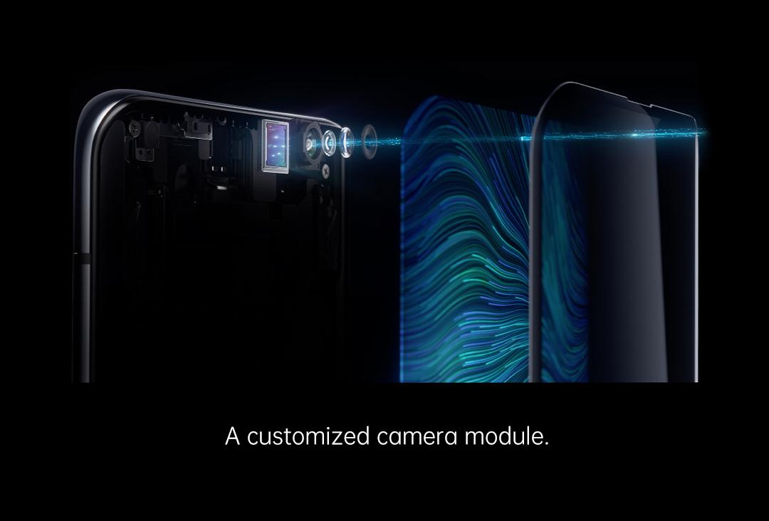 oppo under screen camera