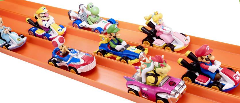 Nintendo e Hot Wheels partner con un set a tema Mario Kart thumbnail