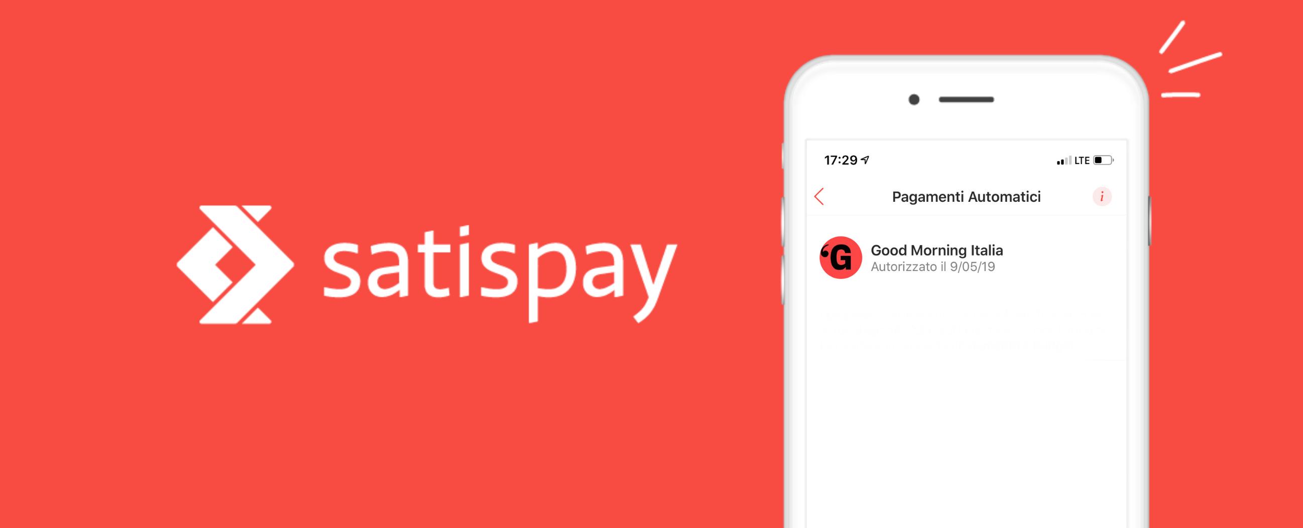 Good Morning Italia si paga con Satispay: scopriamo di cosa si tratta thumbnail