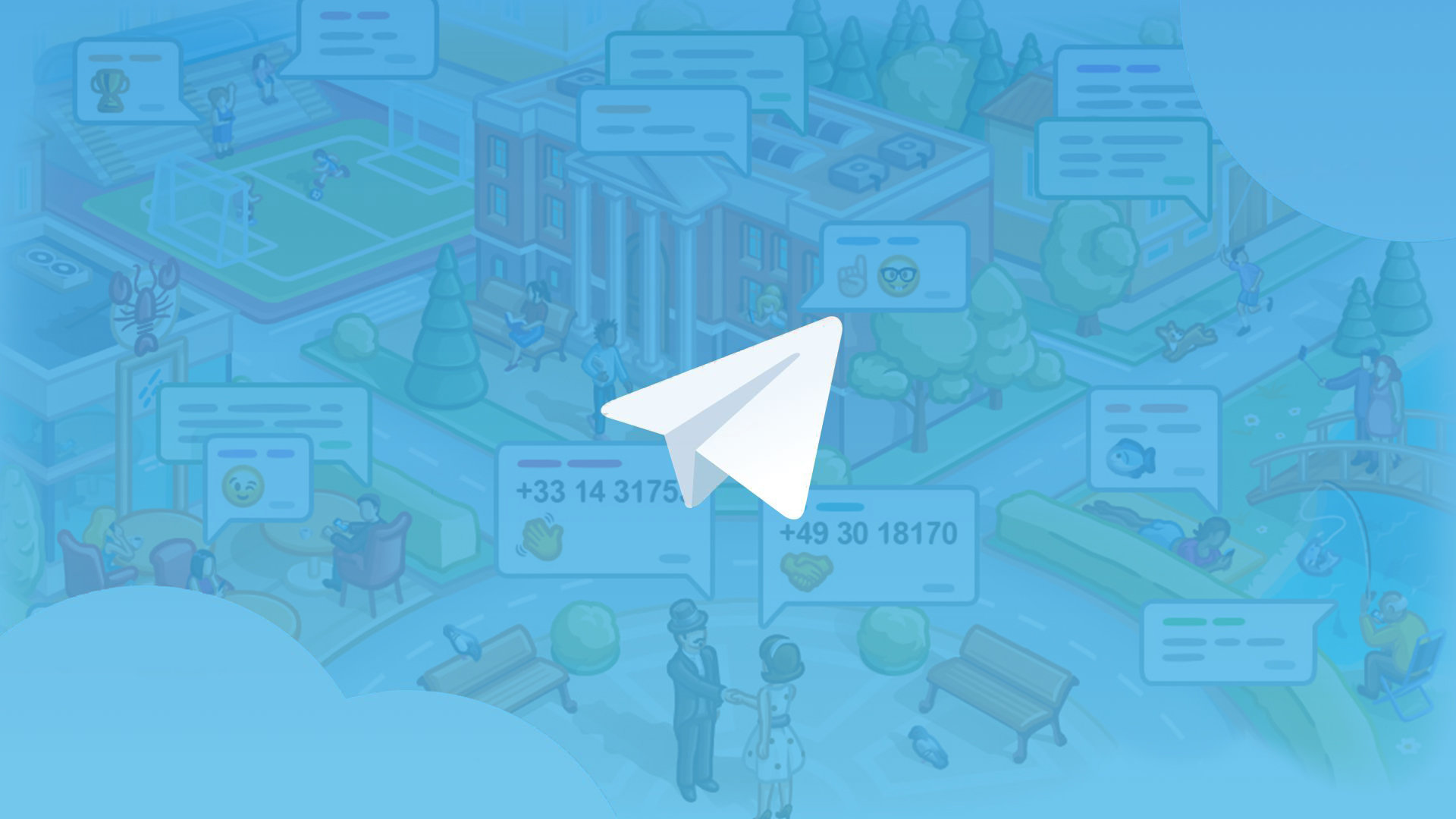 Aggiornamento Telegram 5.8: chat basate sulla posizione e molto altro thumbnail