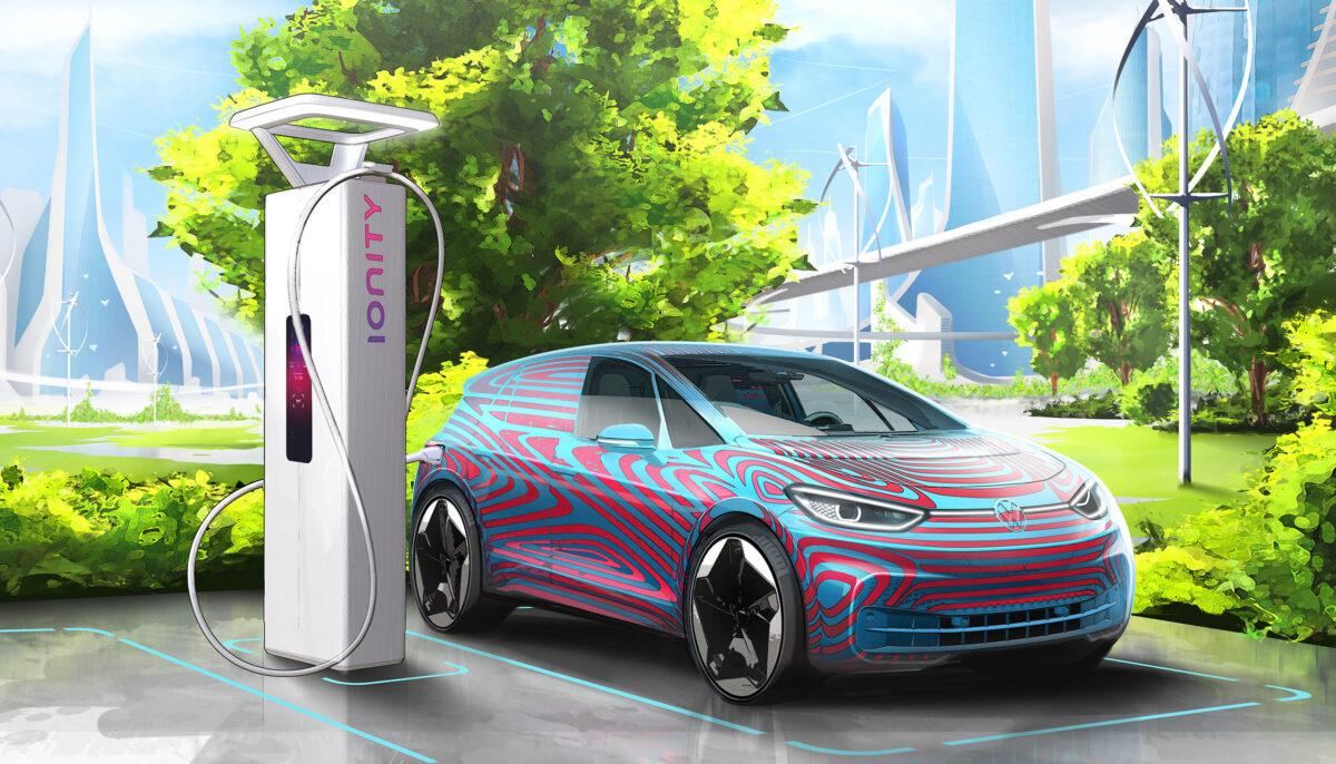 Volkswagen pianifica 36.000 punti di ricarica per le auto elettriche thumbnail