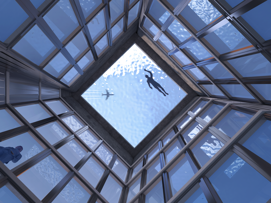 L'Infinity London ospiterà la prima piscina a 360 senza bordi thumbnail