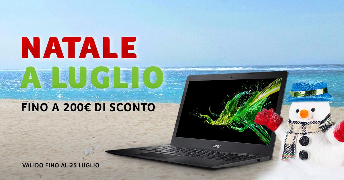 Natale a Luglio: mega sconti sui PC e monitor Acer thumbnail