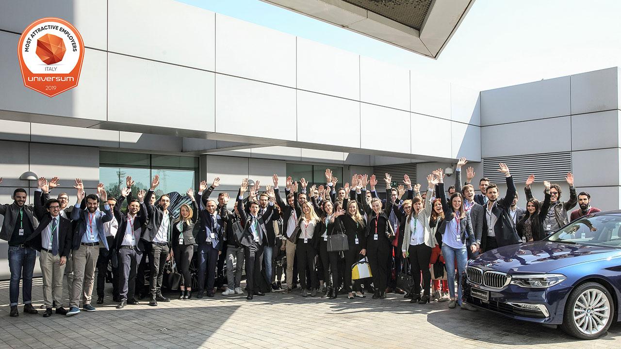 Il BMW Group tra i datori di lavoro più desiderati dagli studenti italiani thumbnail
