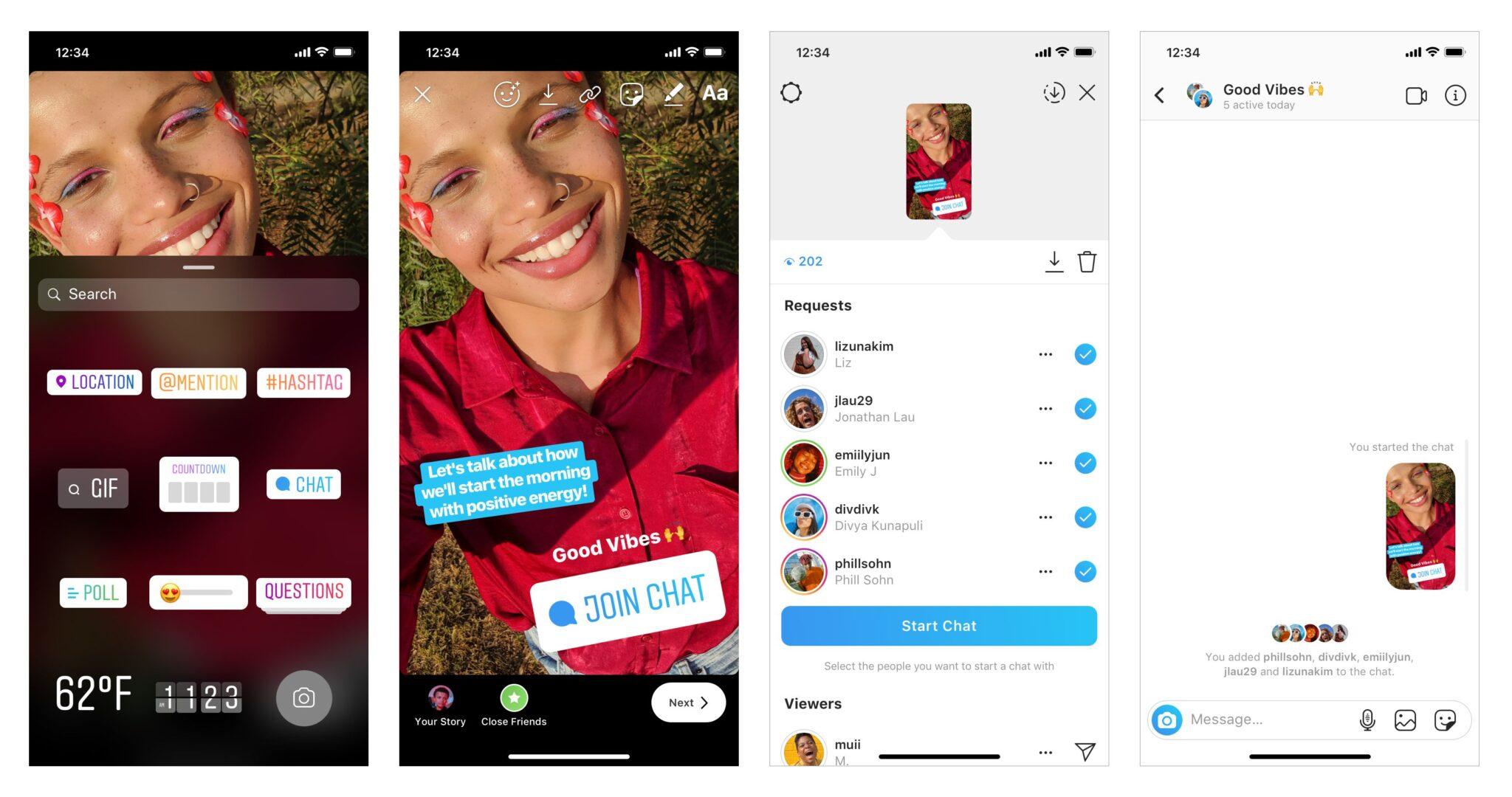 instagram chat