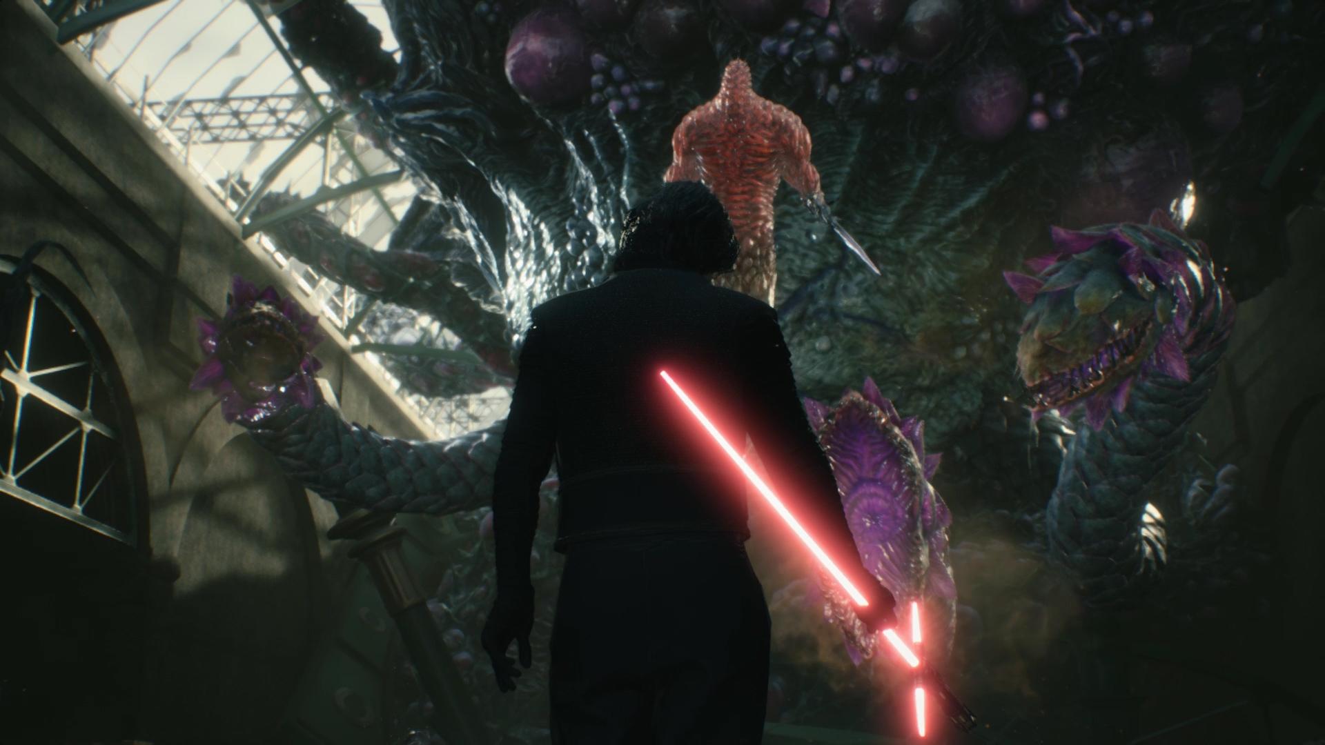 Devil May Cry 5: una mod permette di giocare nei panni di Kylo Ren thumbnail