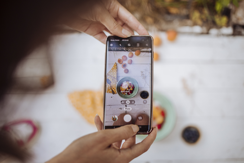 Samsung: cinque consigli per fotografare il cibo dell'estate