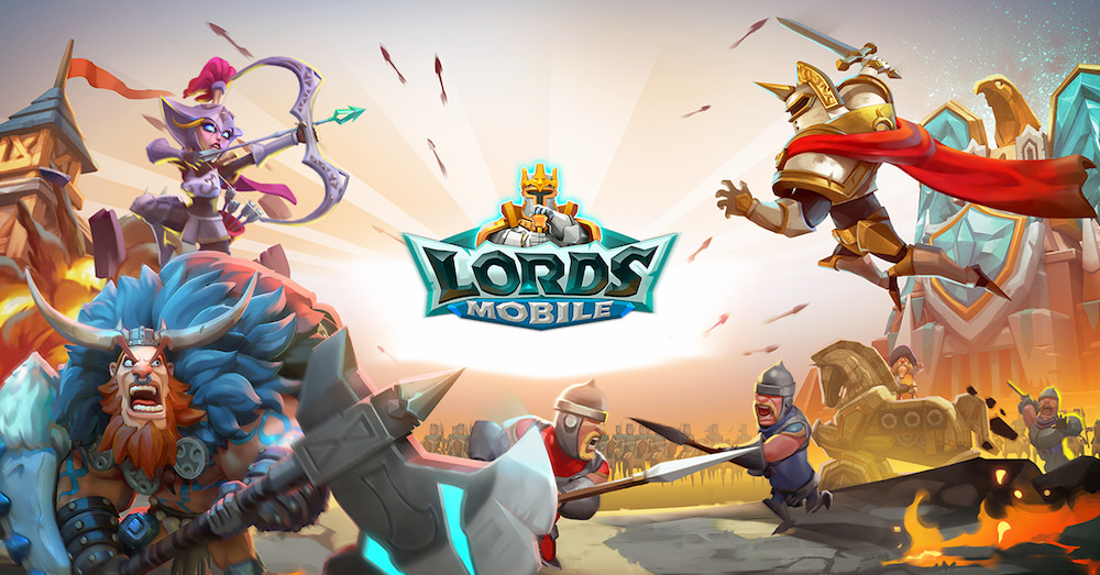 Lords Mobile è da oggi disponibile su PC thumbnail