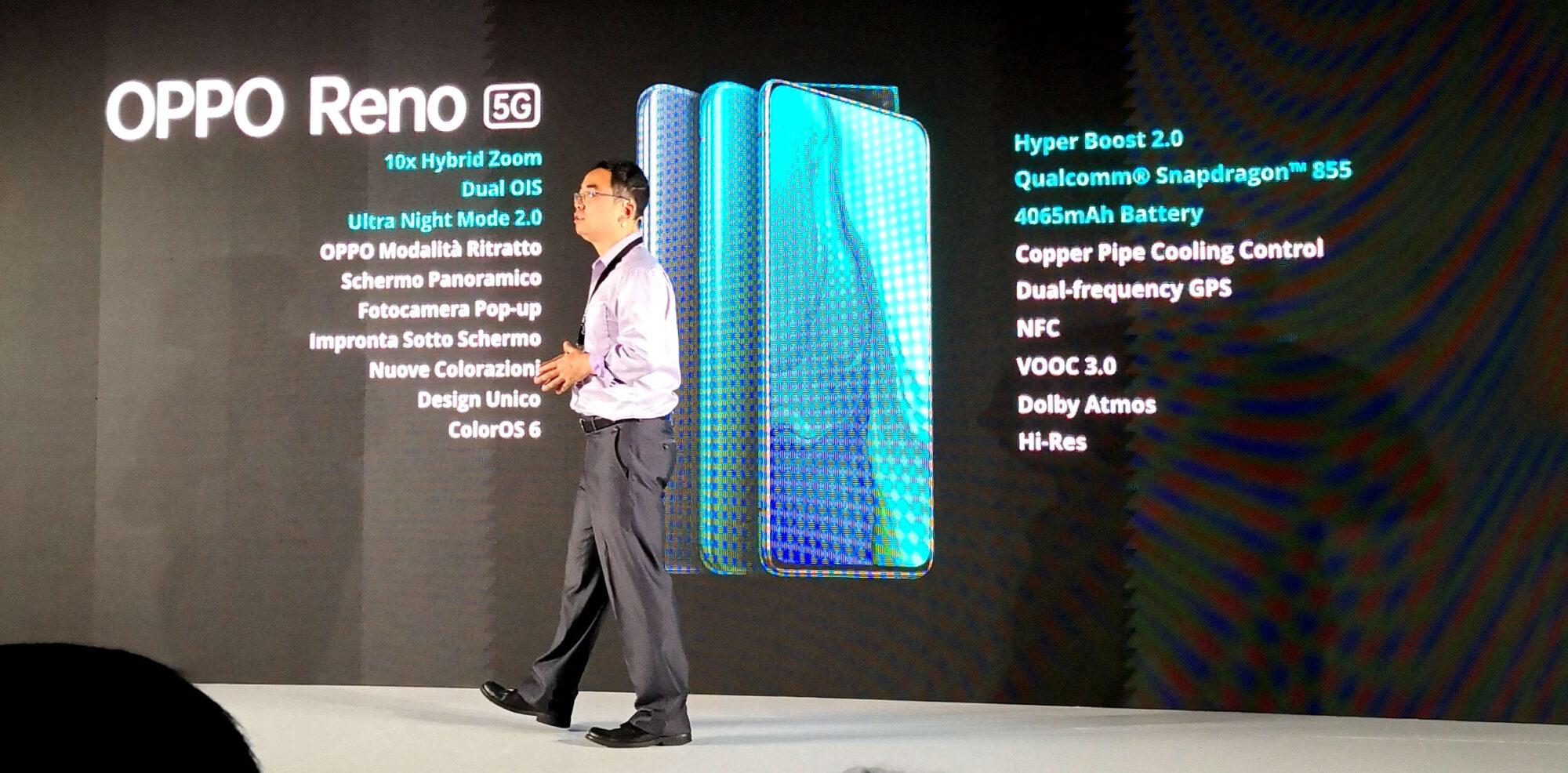 OPPO Reno 5G arriva finalmente in Italia thumbnail