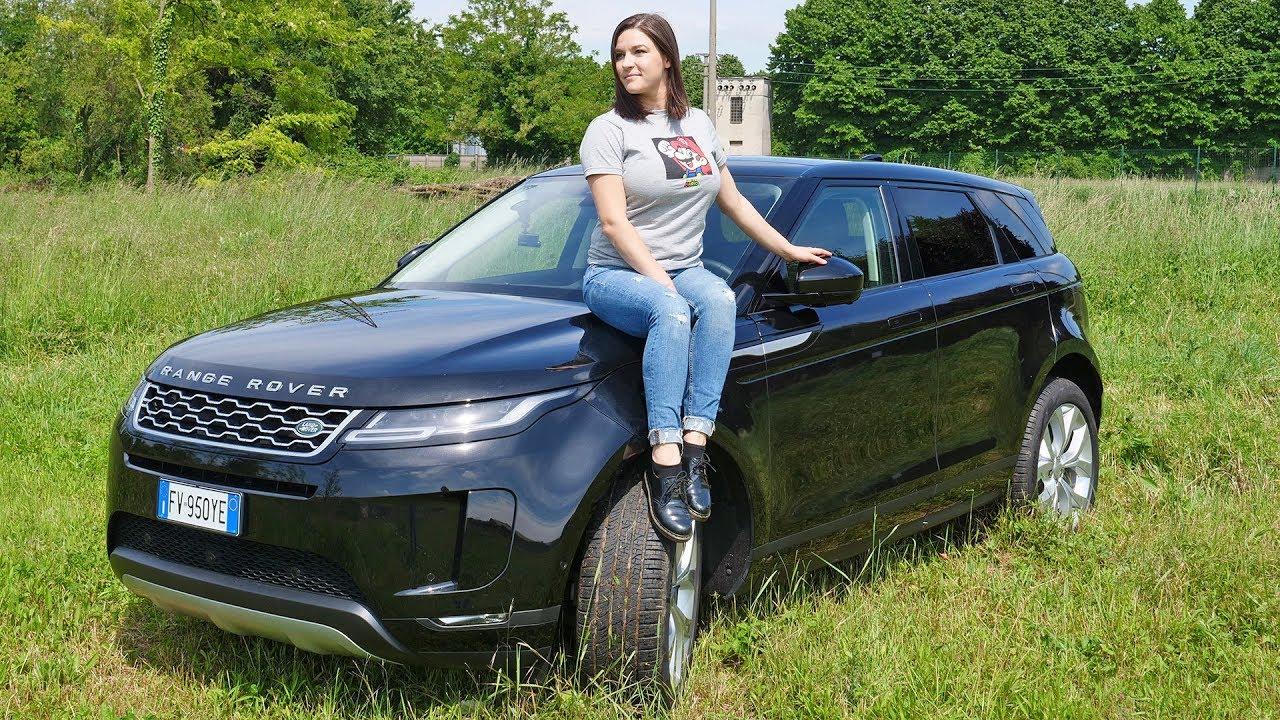 Test drive Range Rover Evoque 2019