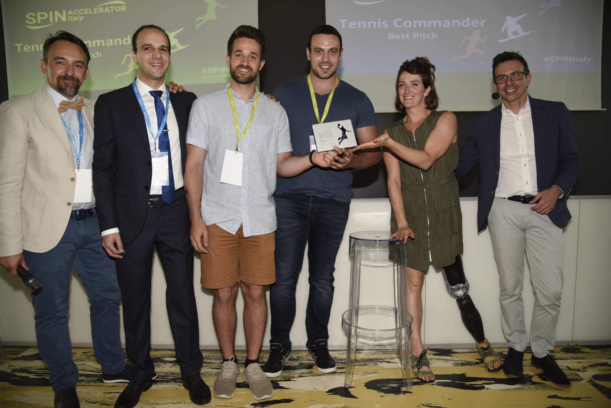 Spin Accelerator Italy: si è conclusa la sfida tra le 8 startup dello sport-tech thumbnail