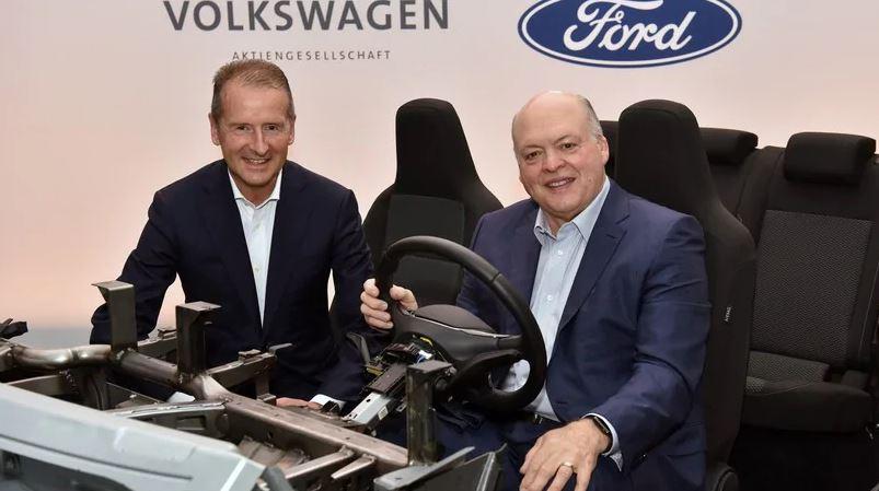 Volkswagen e Ford espandono ulteriormente la loro alleanza thumbnail