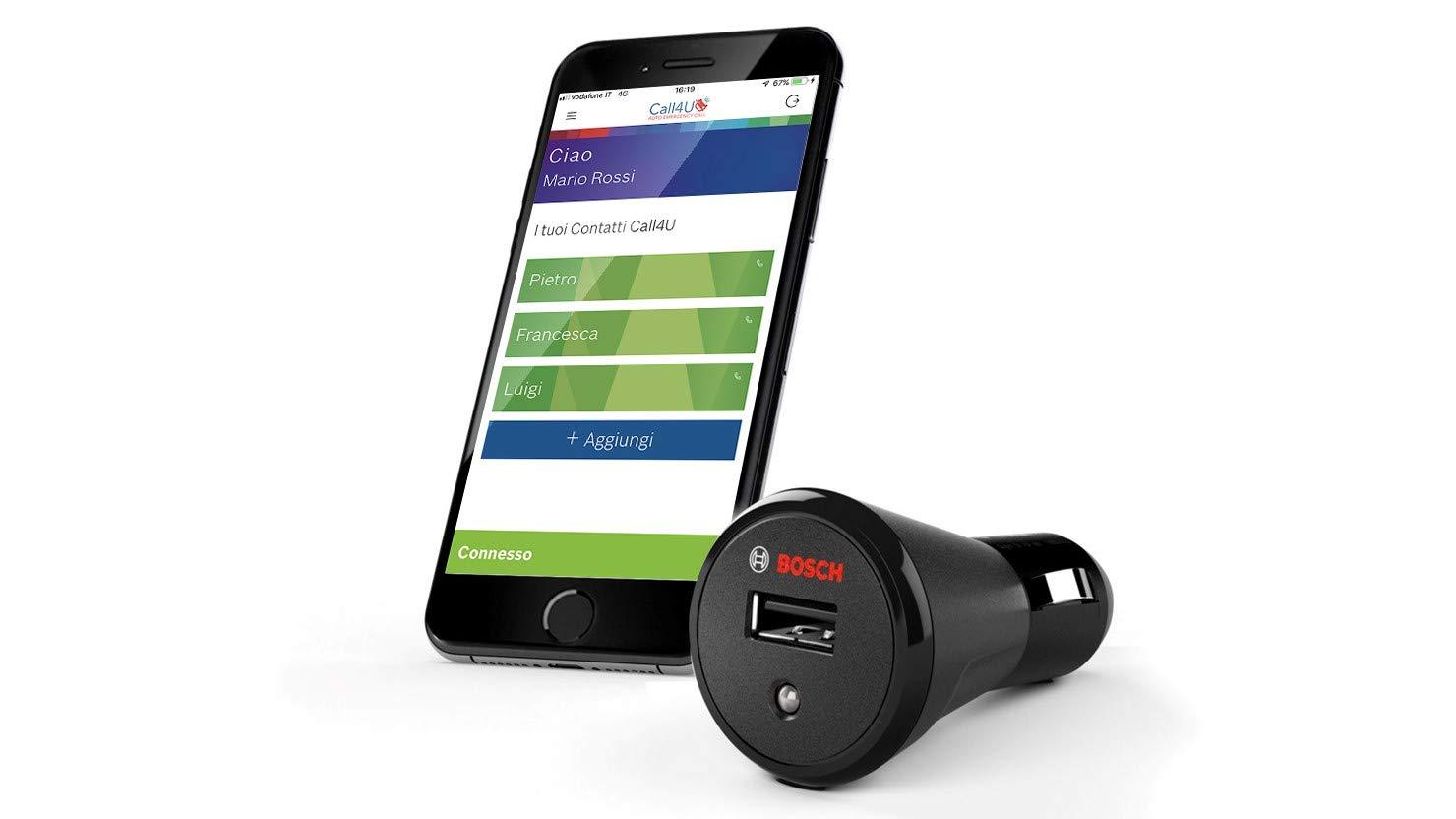 Bosch Call4U: il sistema che avvisa i propri cari in caso d'incidente thumbnail