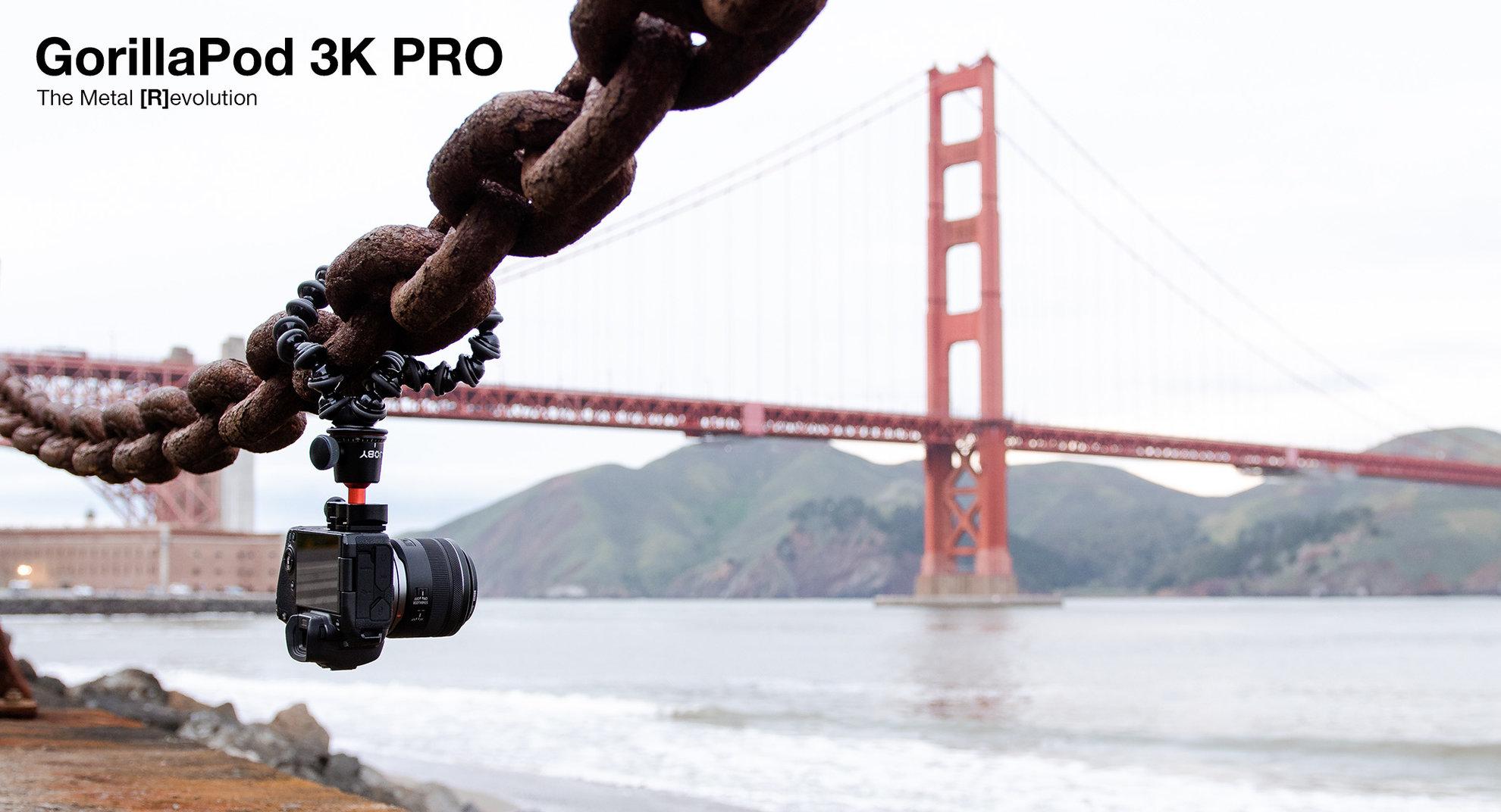 Joby GorillaPod, arrivano i nuovi 3K Pro e Starter Kit thumbnail