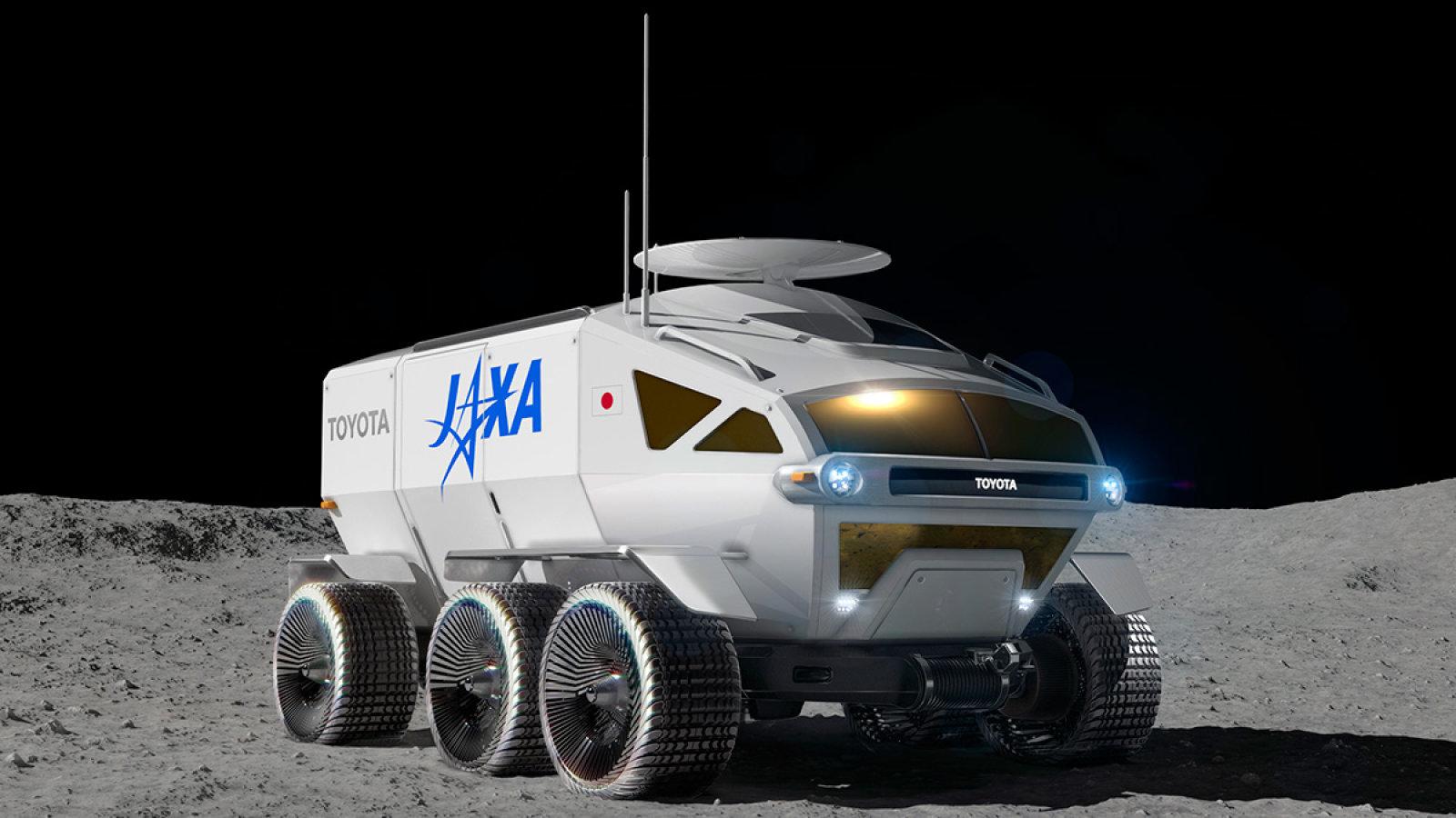 Toyota punta alla Luna: il nuovo rover lunare tutto giapponese thumbnail