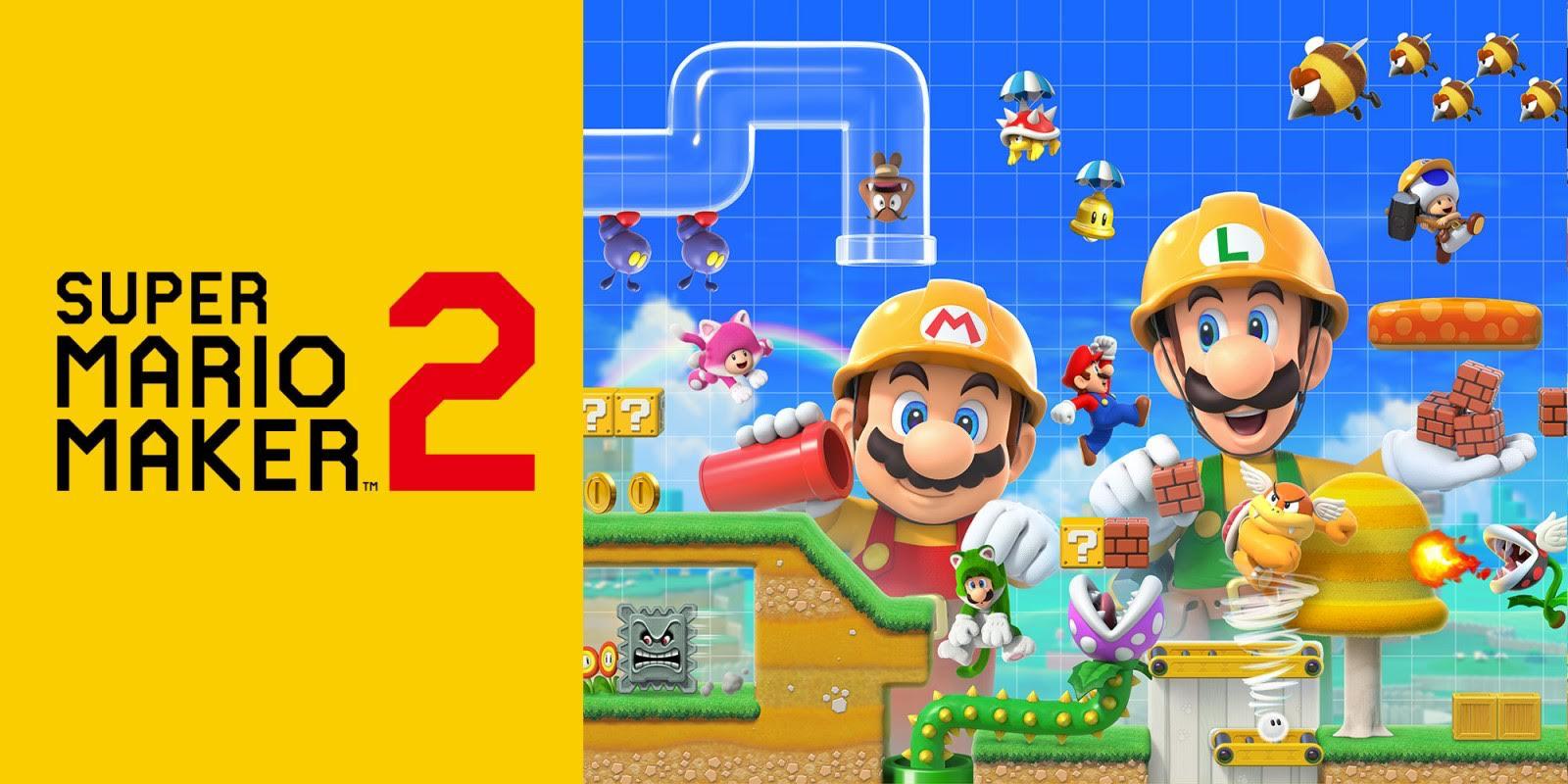 Crea un nuovo mondo, con Super Mario Maker 2 thumbnail