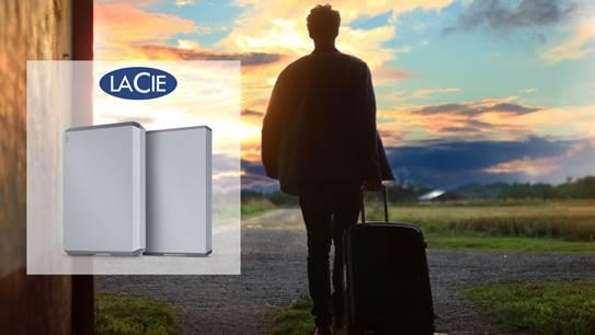 LaCie Mobile Drive: contenuti a portata di mano anche in vacanza thumbnail