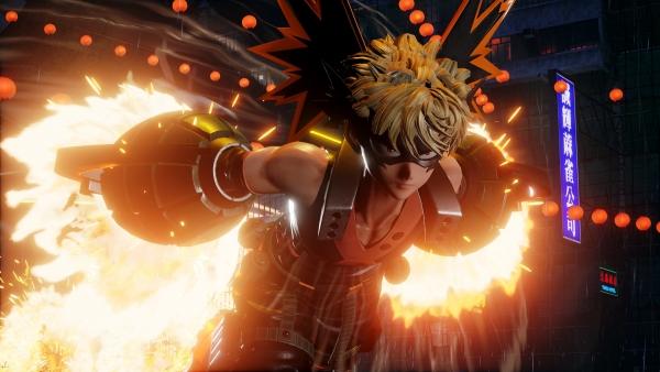 Jump Force: pubblicate le prime immagini di Bakugo thumbnail