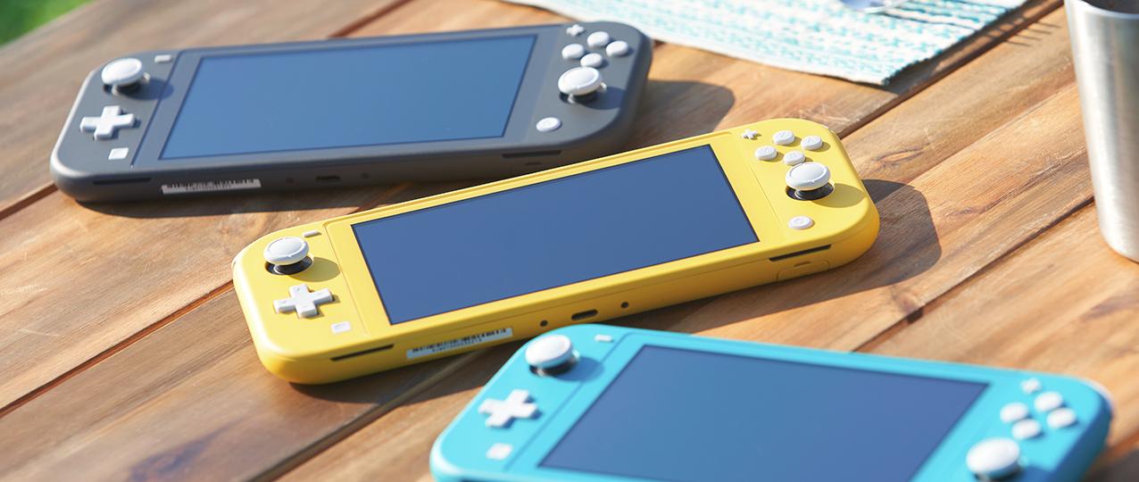 Nintendo Switch Lite presentata ufficialmente thumbnail