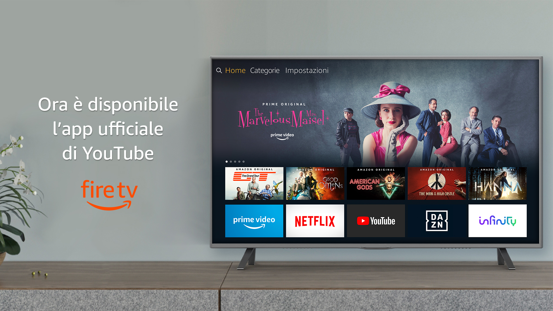 Youtube disponibile su Fire TV e Prime Video disponibile su Chromecast thumbnail