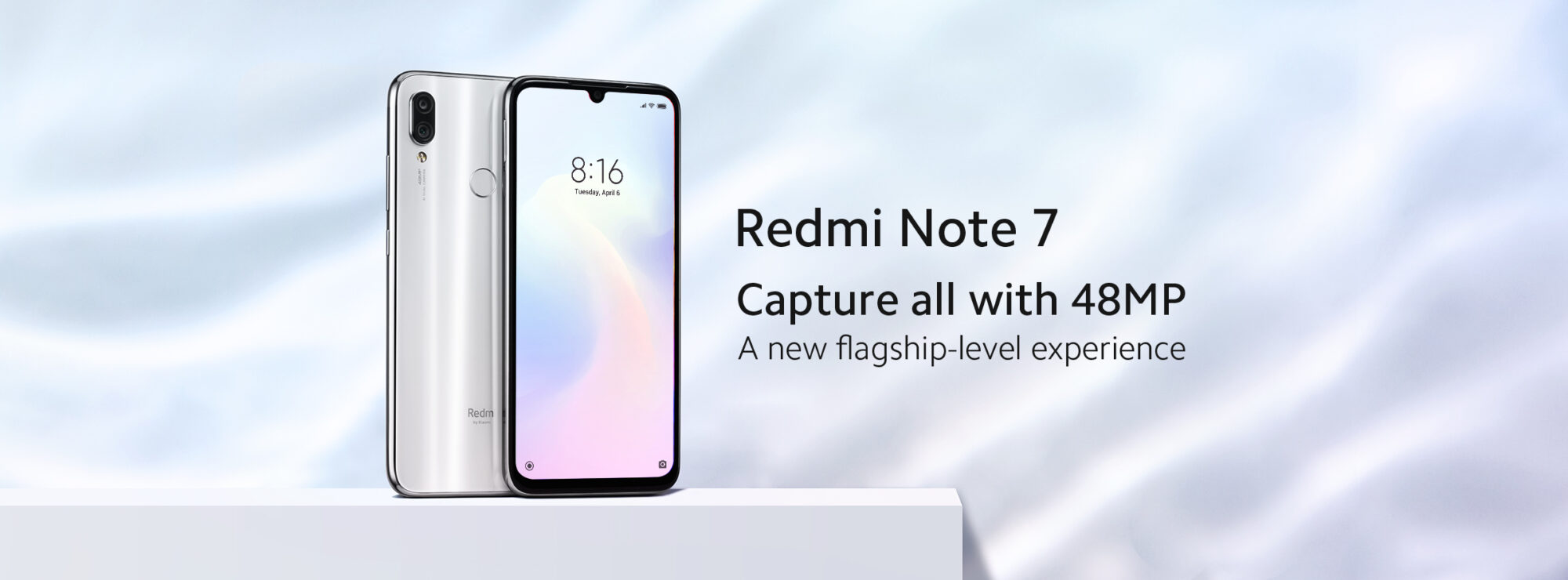 Redmi Note 7: colorazione Moonlight White a breve disponibile in Italia thumbnail