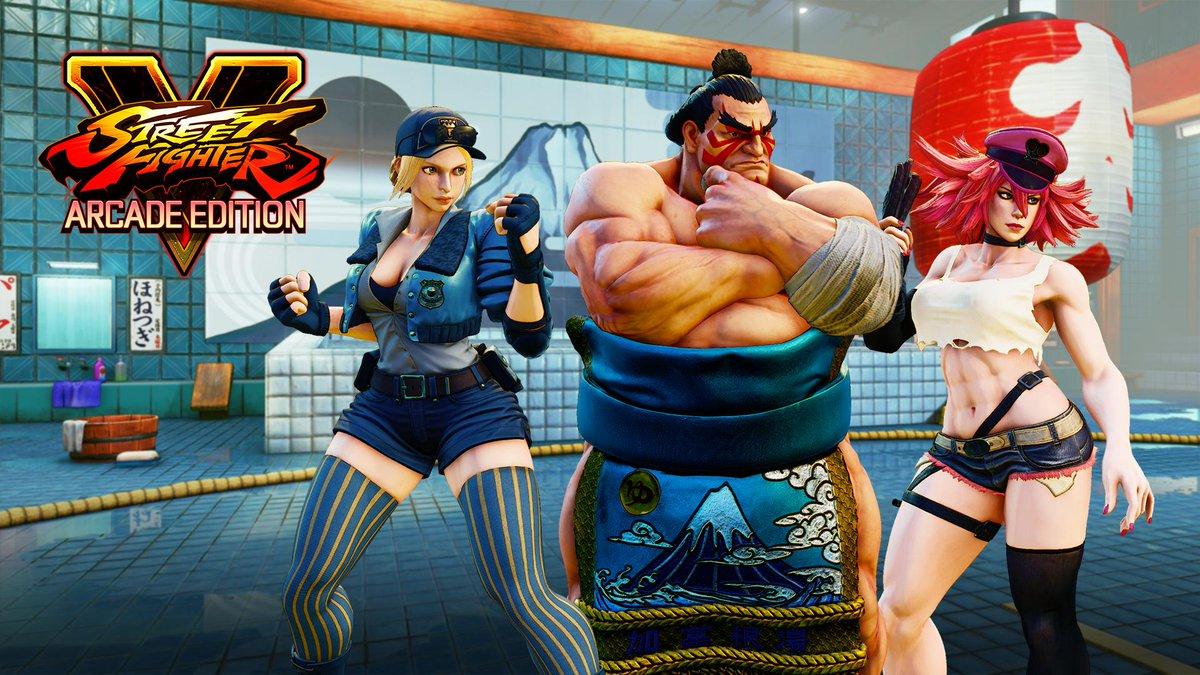 Street Fighter V: arrivano Honda, Poison e Lucia thumbnail