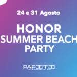 HONOR BEACH PARTY