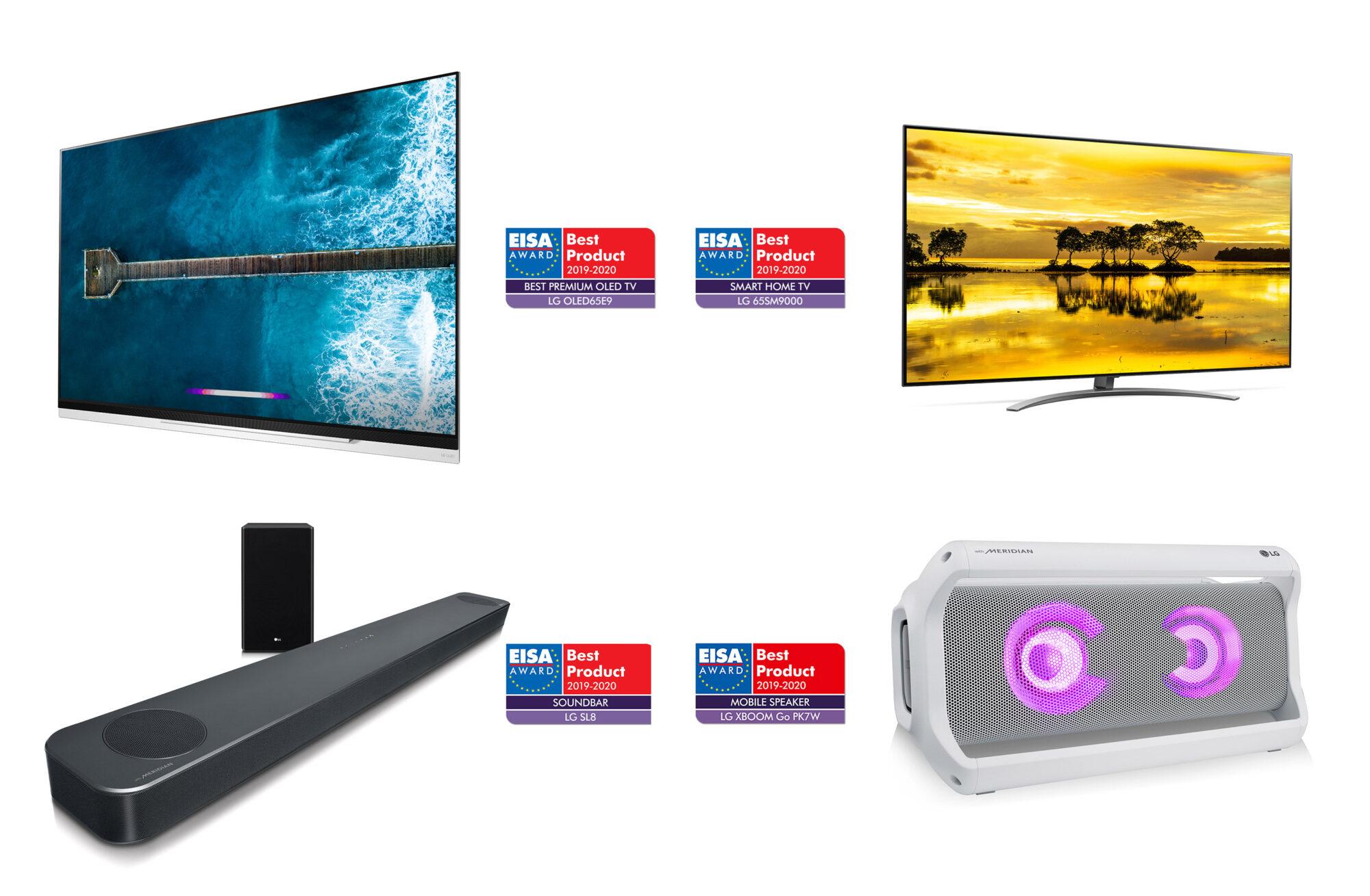 LG premiata agli EISA Awards per i prodotti di Home Entertainment thumbnail