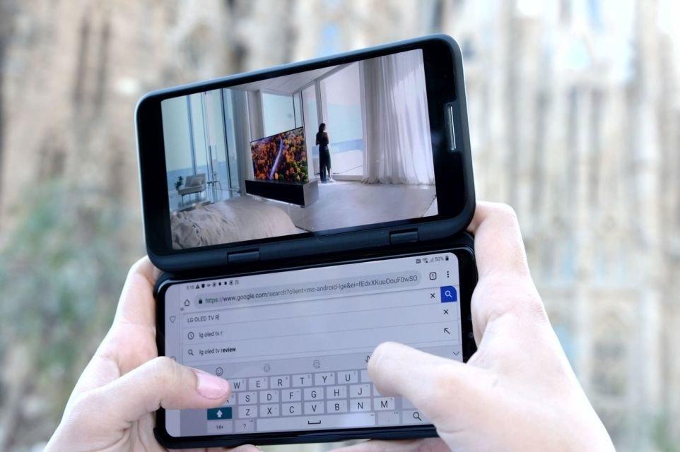 Il prossimo smartphone di LG avrà due schermi più uno thumbnail