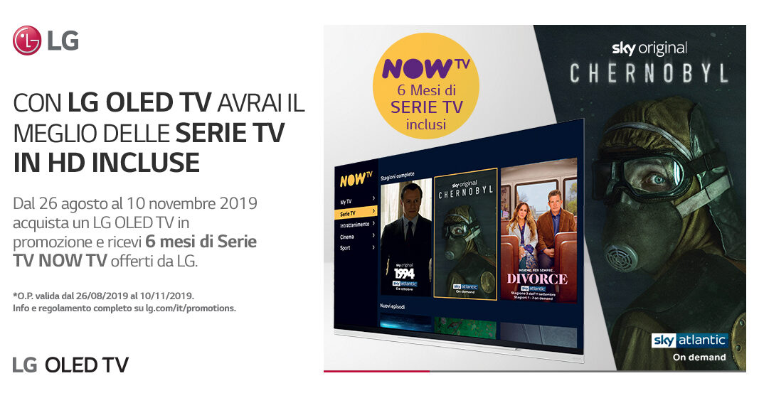 LG OLED TV 2019 AI ThinQ NOWTV