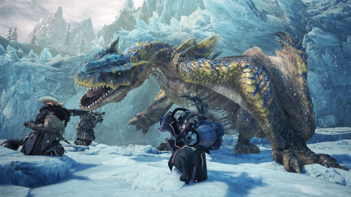 Monster Hunter World: Iceborne si mostra in un nuovo avvincente trailer thumbnail