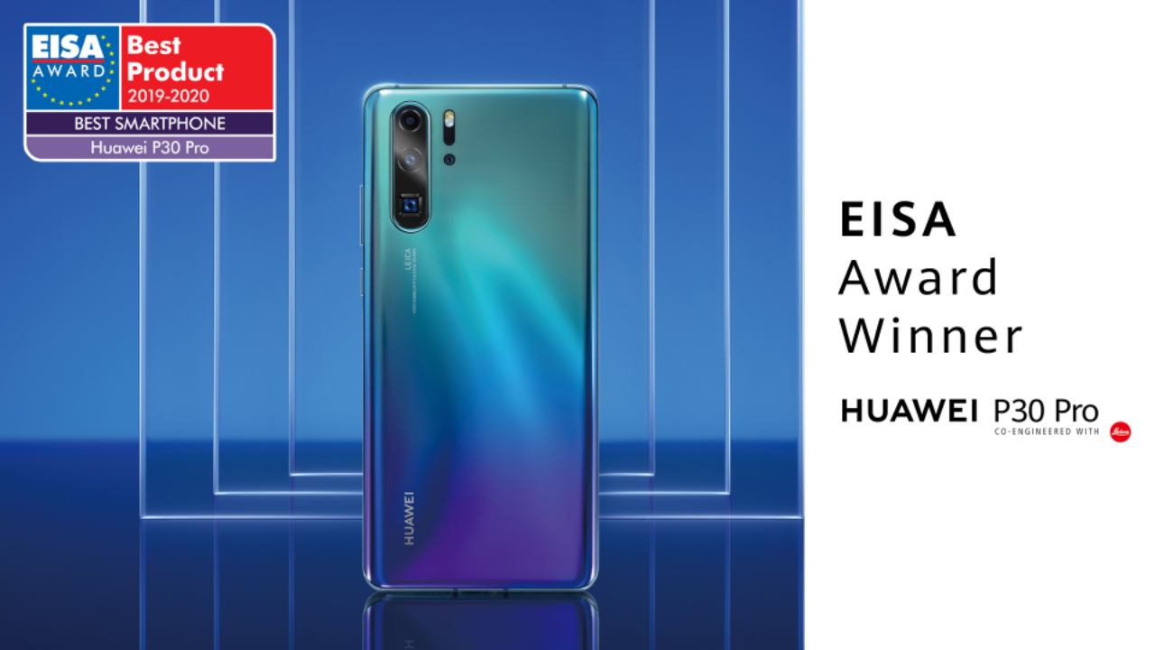 "HUAWEI P30 Pro: premio EISA ""Best Smartphone of the Year"" thumbnail"