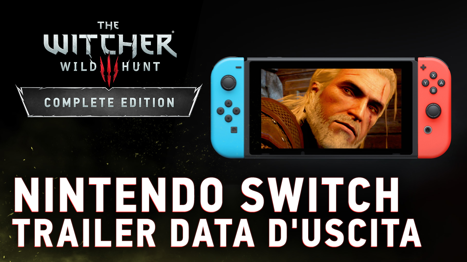 The Witcher 3: annunciata la data di uscita su Nintendo Switch thumbnail