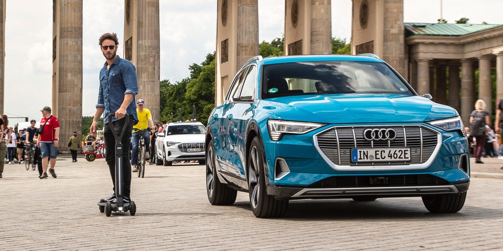 Monopattino elettrico: Audi potrebbe aver risolto un problema thumbnail