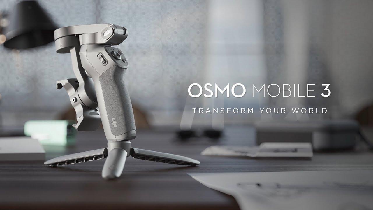 DJI annuncia il nuovo Osmo Mobile 3: caratteristiche e prezzo thumbnail