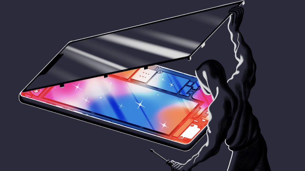 iphone rubati