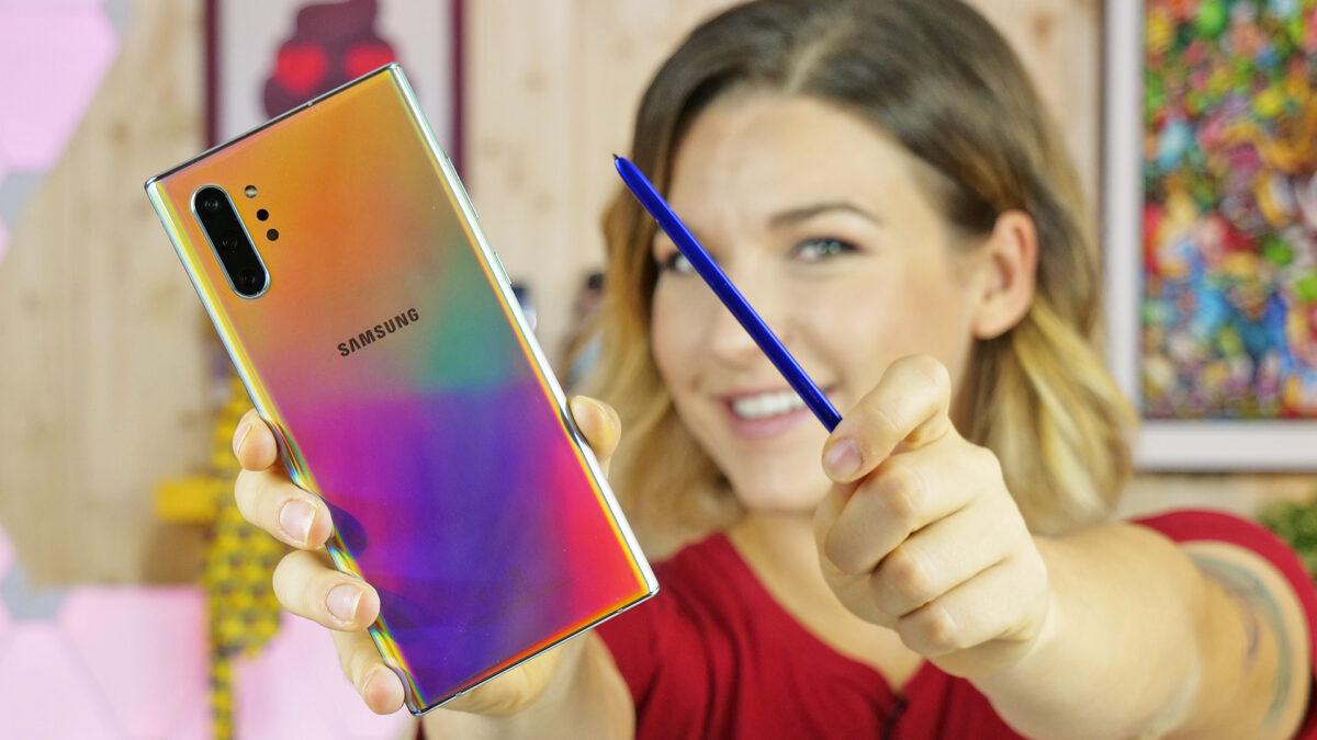 Samsung Galaxy Note 10 plus recensione: un vero top per lavorare thumbnail