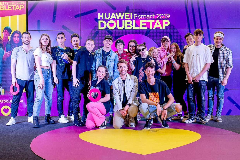Huawei P Smart 2019 DoubleTap arriva a Milano per la DoubleTap Vip thumbnail
