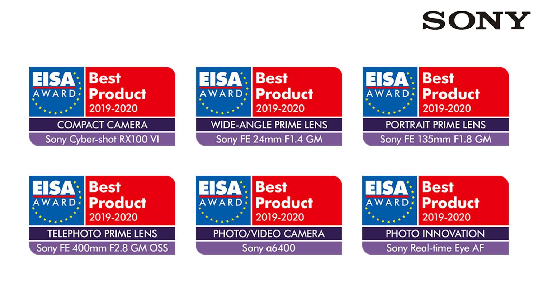 Sony conquista gli EISA Awards 2019 con sette riconoscimenti! thumbnail