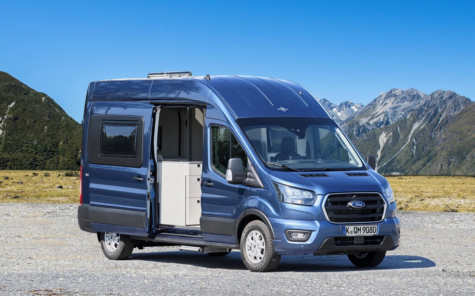 Ford Big Nugget: concept di un camper dell'Ovale Blu insieme a Westfalia
