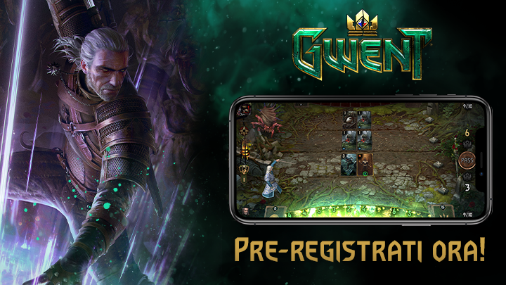 GWENT: The Witcher Card Game in arrivo su iOS: pre-registrazioni aperte! thumbnail
